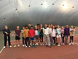 Junior Club Afternoon tennis at Maidstone Tennis Academy