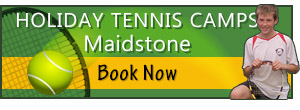Holiday Tennis Camps at Maidstone Tennis Academy
