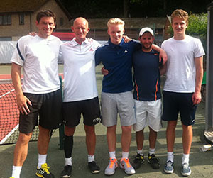 Champions from Maidstone Tennis Academy