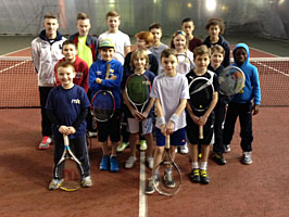 Recreational tennis for juniors at Maidstone Tennis Academy